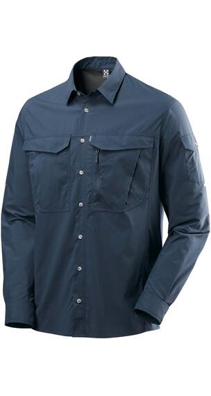 Haglöfs Salo III LS Shirt Herre Mørkeblå 2V2